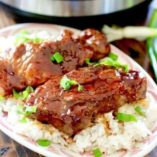 Instant Pot Korean BBQ Country Style Ribs
