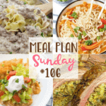 Easy Deep Dish Pizza ~ Meal Plan Sunday #106