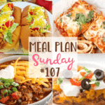Taco Sloppy Joes at Meal Plan Sunday #107