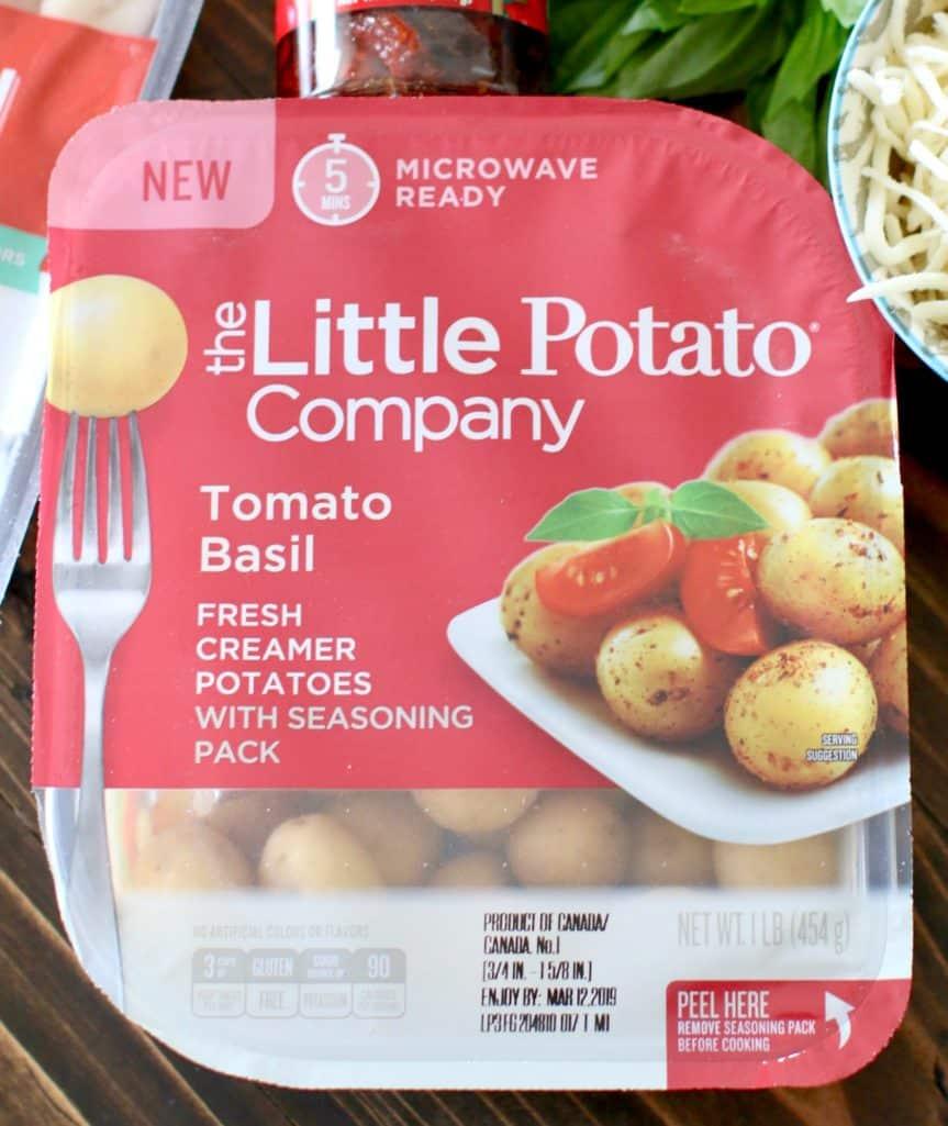 Tomato Basil Creamer Potatoes