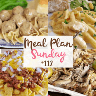 Swedish Meatballs and Gravy at Meal Plan Sunday #112