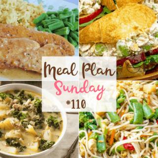 Meal Plan Sunday #110