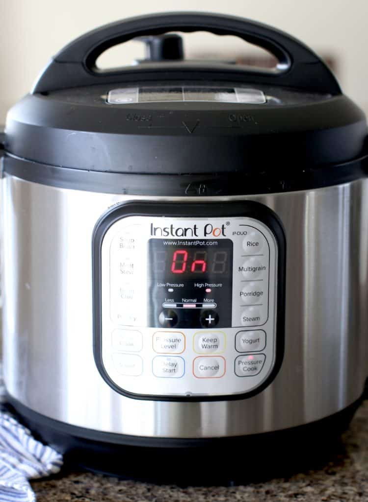 6-quart Instant Pot Duo electric pressure cooker