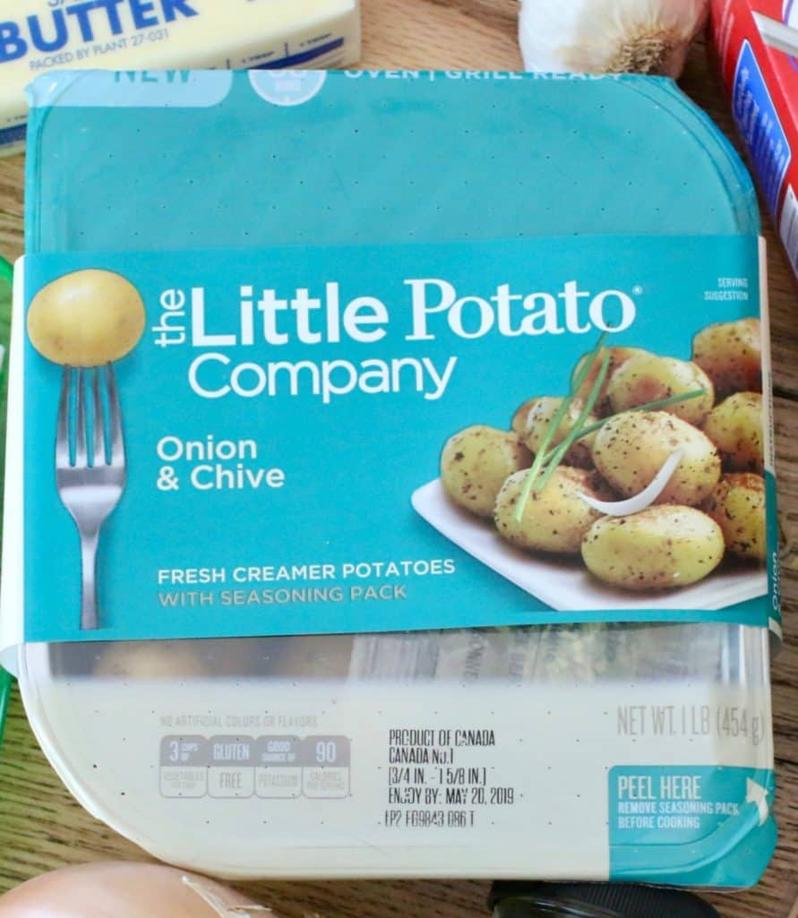 Onion and Chive Little Potatoes