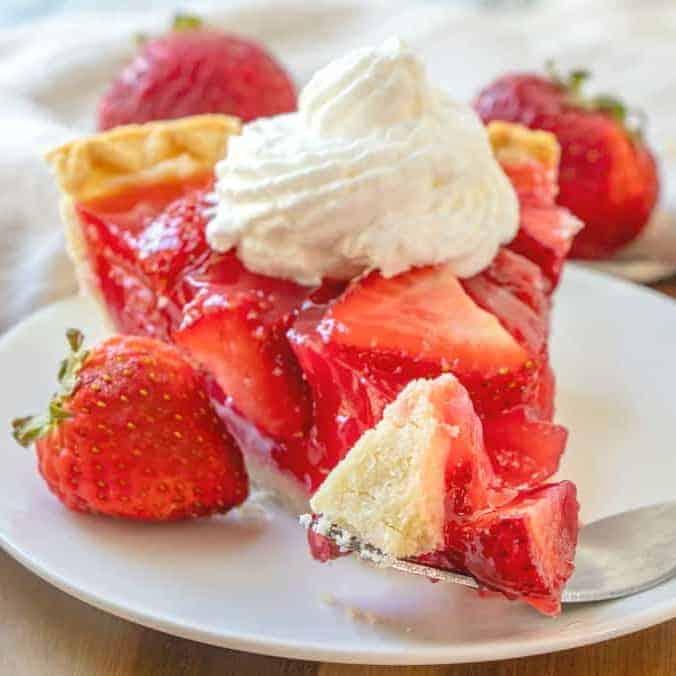 Best Strawberry Pie Recipe