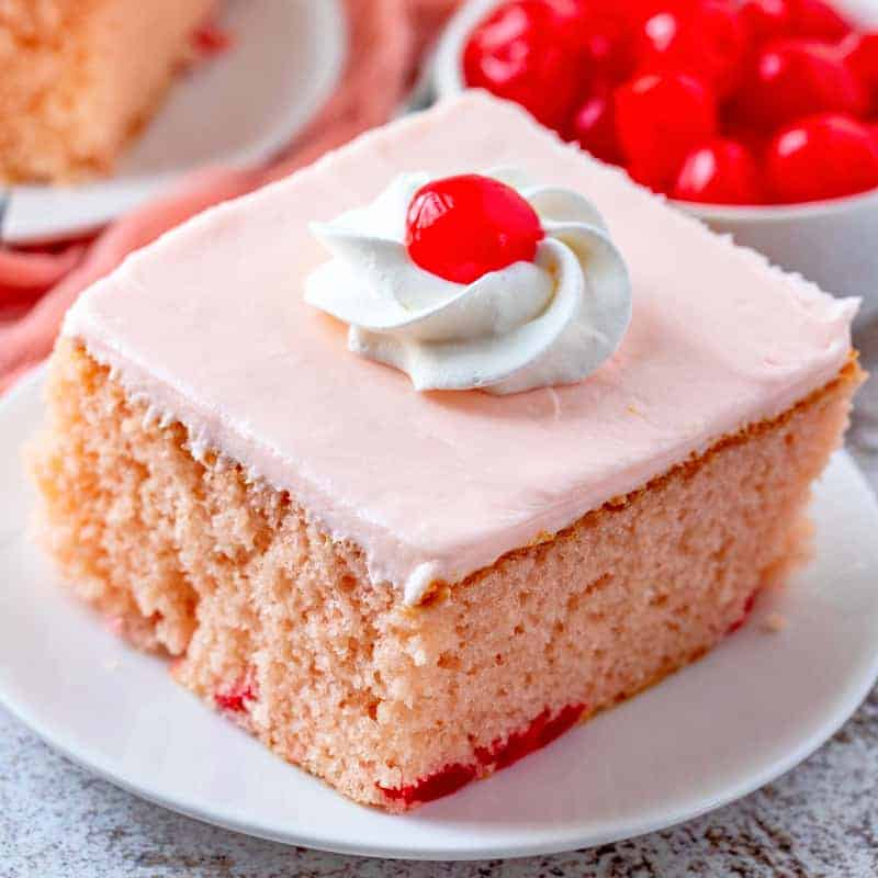 Easy Maraschino Cherry Cake Video The Country Cook