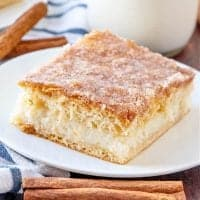 Sopapilla Cheesecake Bars recipe from The Country Cook
