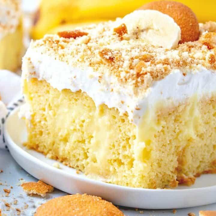 Best Banana Pudding Poke Cake recipe
