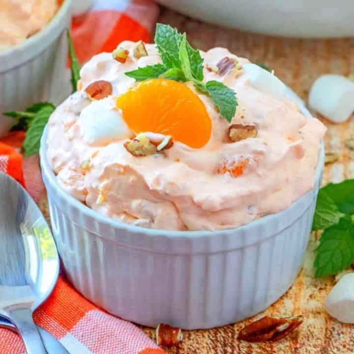 No Bake Orange Fluff Dessert recipe