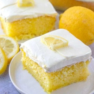 Ultimate Lemon Poke Cake recipe