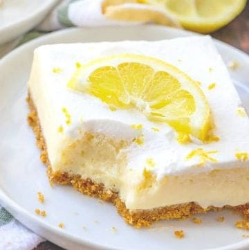 Homemade Creamy Lemon Bars, thumbnail photo
