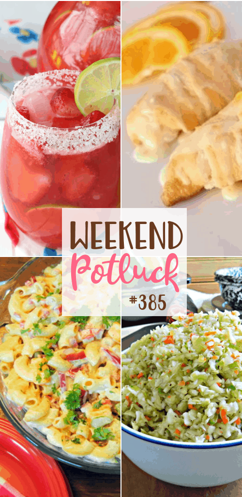 Featured recipes include: Retro Macaroni Salad, Pennsylvania Dutch Pepper Slaw, Easy Orange Breakfast Crescents and Strawberry Margarita Punch