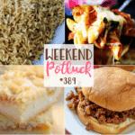 Weekend Potluck #389 Creamy Cajun Noodles