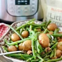 Instant Pot Green Beans with Potatoes