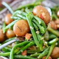Instant Pot Bacon Green Beans and Potatoes