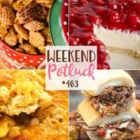 Featured recipes include: Praline Crunch, Hot & Spicy Italian Beef, Grandmama's Cherry Cream Cheese Pie and Southern-Style Mac and Cheese