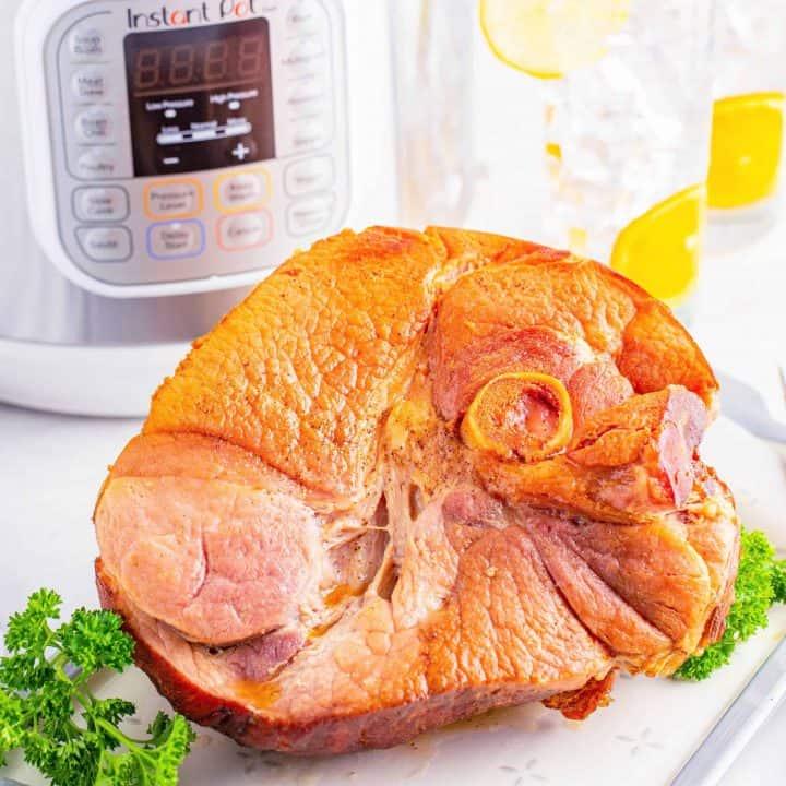 The Best Instant Pot Ham recipe