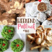 Crock Pot Peanut Clusters, Kentucky Bourbon Balls, No Bake Grinch Cookies, Peanut Butter Haystacks,