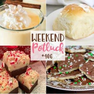 Weekend Potluck #406- Amish Dinner Rolls