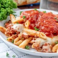 The Best Baked Ziti recipe from The Country Cook