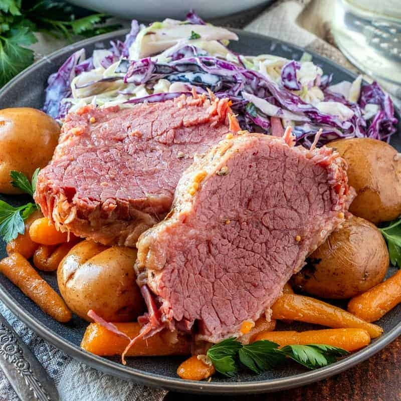 Instant Pot Corned Beef With Irish Slaw The Country Cook