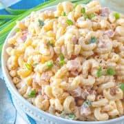 Pimento Cheese and Ham Macaroni Salad, thumbnail