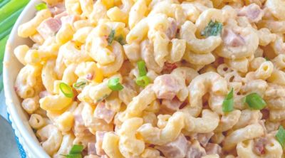 Pimento Cheese and Ham Macaroni Salad, thumbnail