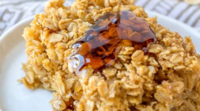 Maple Brown Sugar Baked Oatmeal
