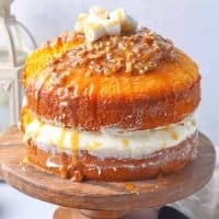 Easy Sweet Potato Layered Cake recipe from The Country Cook