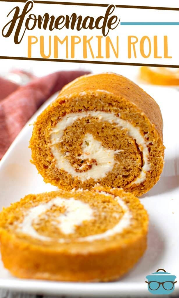 Homemade Pumpkin Roll recipe from The Country Cook