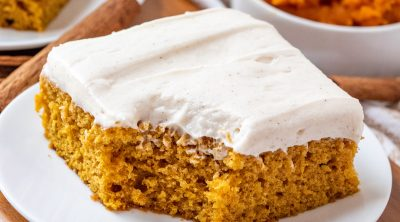 The Best Pumpkin Cake Bars recipe