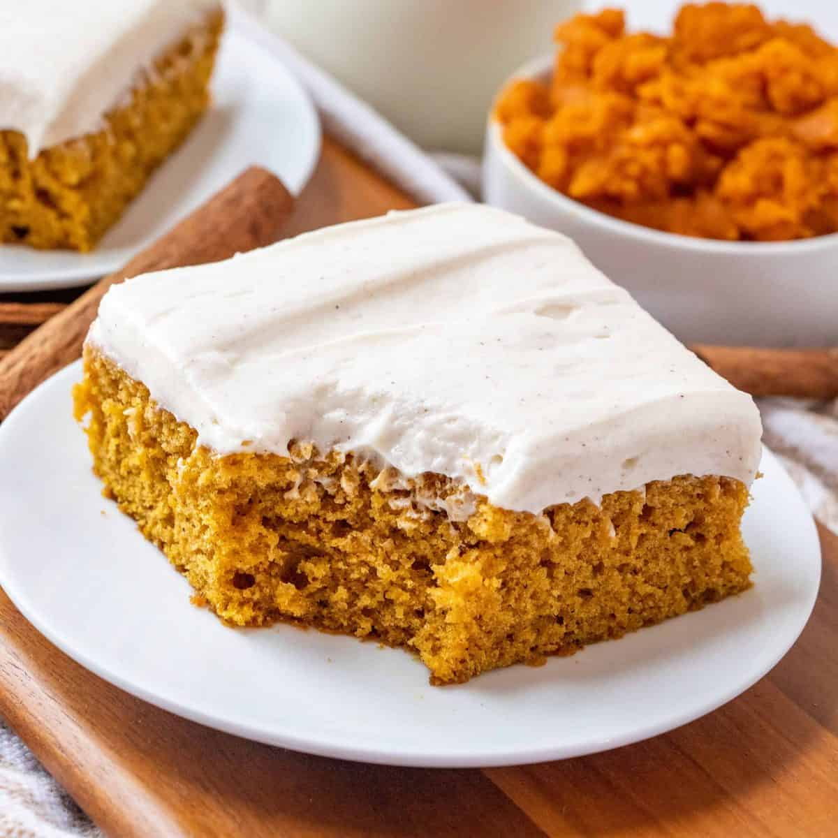 The Best Pumpkin Cake Bars The Country Cook