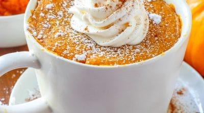 Homemade Pumpkin Mug Cake recipe
