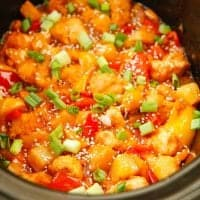 Crock Pot Sweet and Sour Chicken, thumbnail