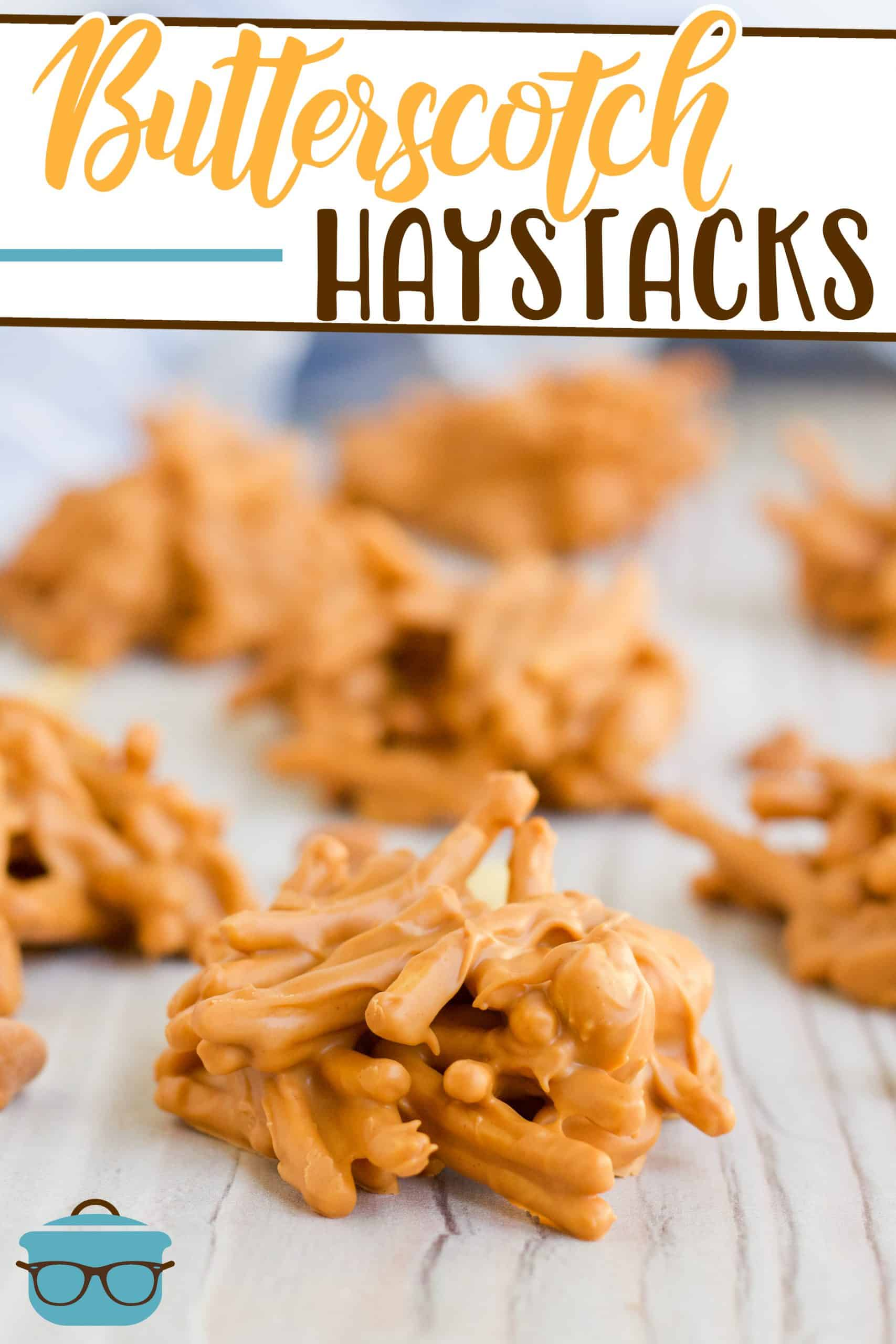 No-Bake Butterscotch Haystacks