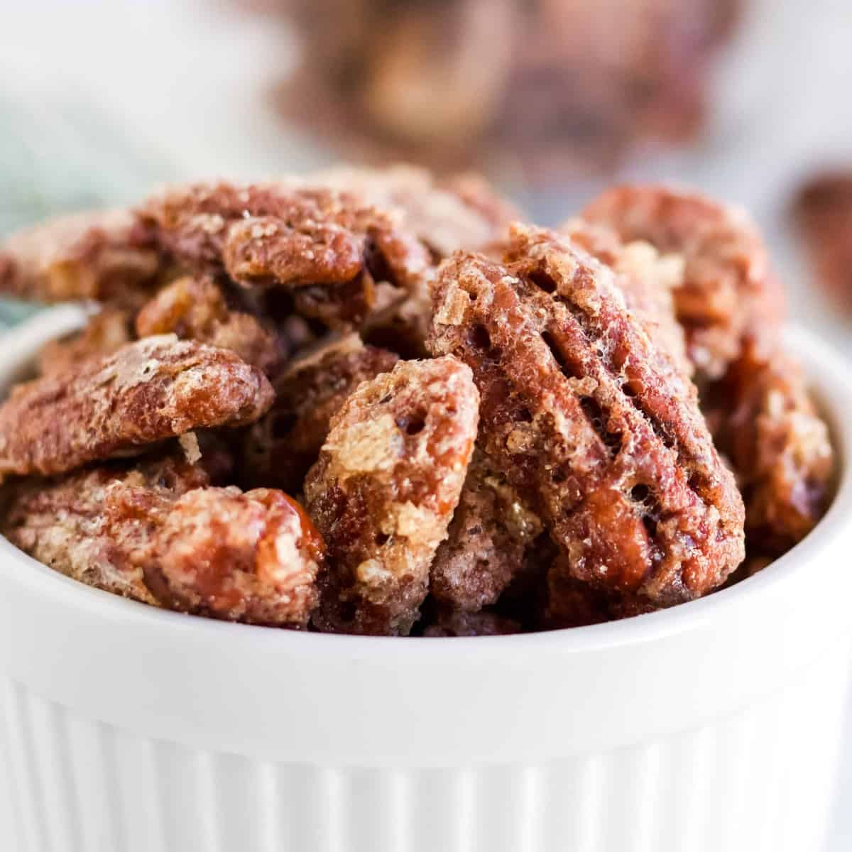 Homemade Candied Pecans recipe