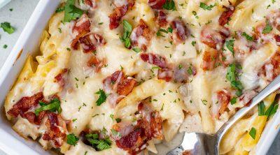 Chicken Bacon Ranch Casserole recipe