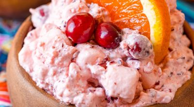 Cranberry Orange Fluff recipe