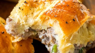 Sausage Stuffed Crescent Ring recipe
