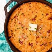 Bacon Cornbread recipe from The Country Cook