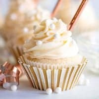 Homemade Champagne Cupcakes recipe