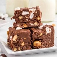 Homemade Rocky Road Fudge recipe