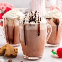 Spiked Hot Chocolate recipe from The Country Cook
