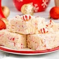 Candy Cake Peppermint Fudge