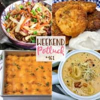 Mashed Potato Cakes, Egg Roll in a Bowl, Slow Cooker Creamy Tortellini & Sausage Soup, Chili Tater Tot Casserole!
