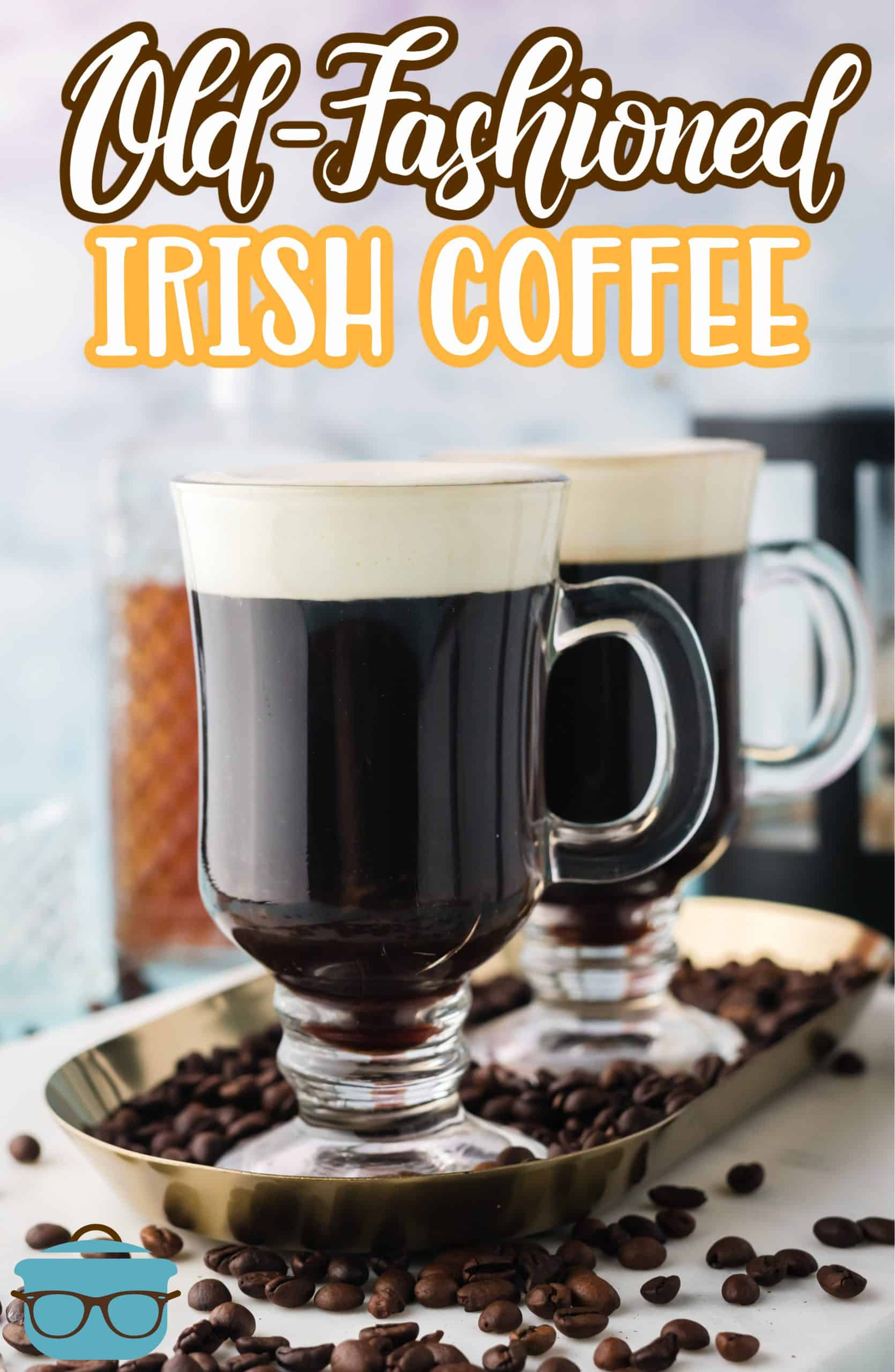 If you love spiked coffee drinks then you will adore this Old-Fashioned Irish Coffee. With minimal ingredients and time, this makes the perfect adult beverage recipe!