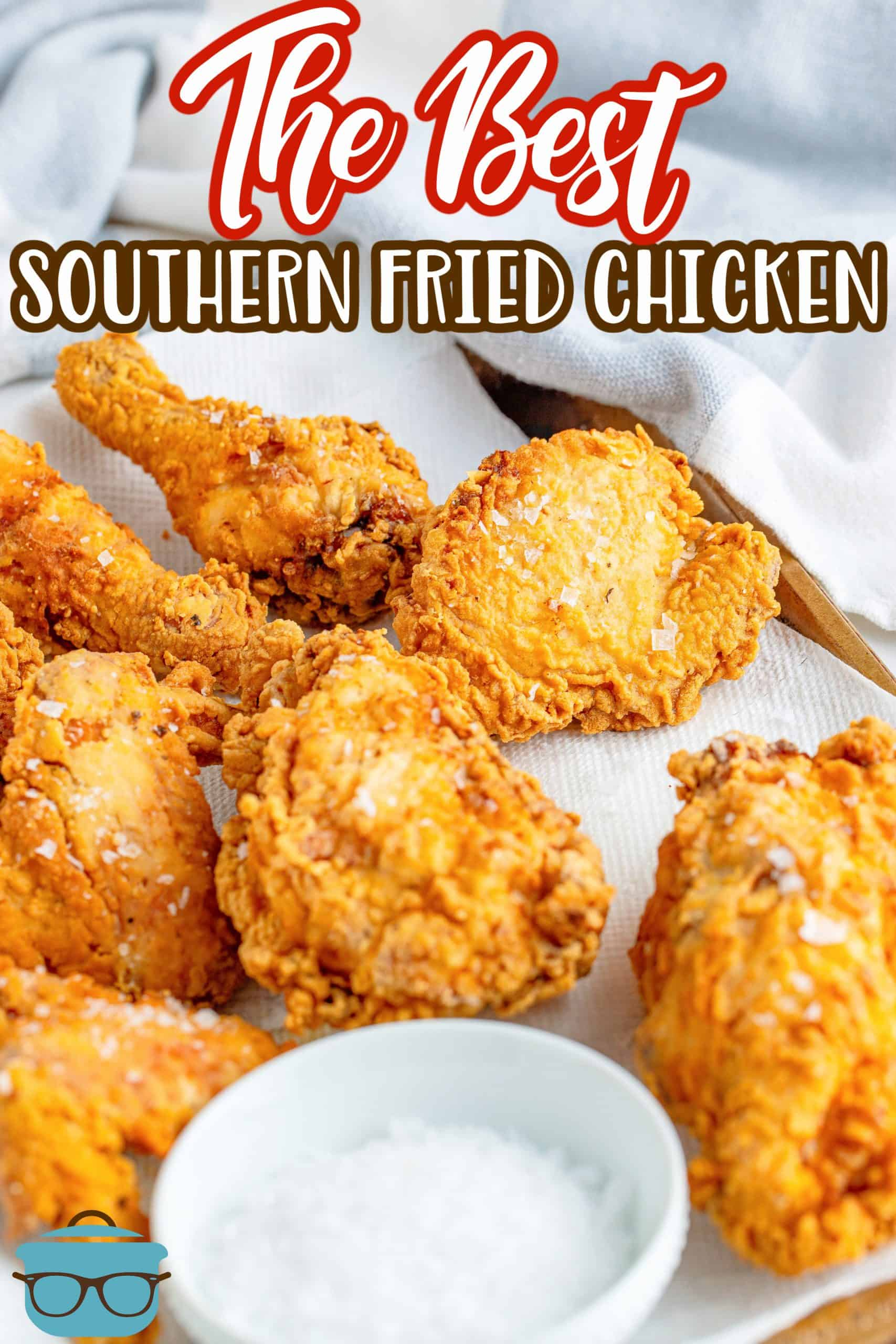 If you want a crazy delicious dinner time recipe, then you have to go for The Best Southern Fried Chicken. Crispy, flavorful and absolutely addictive.