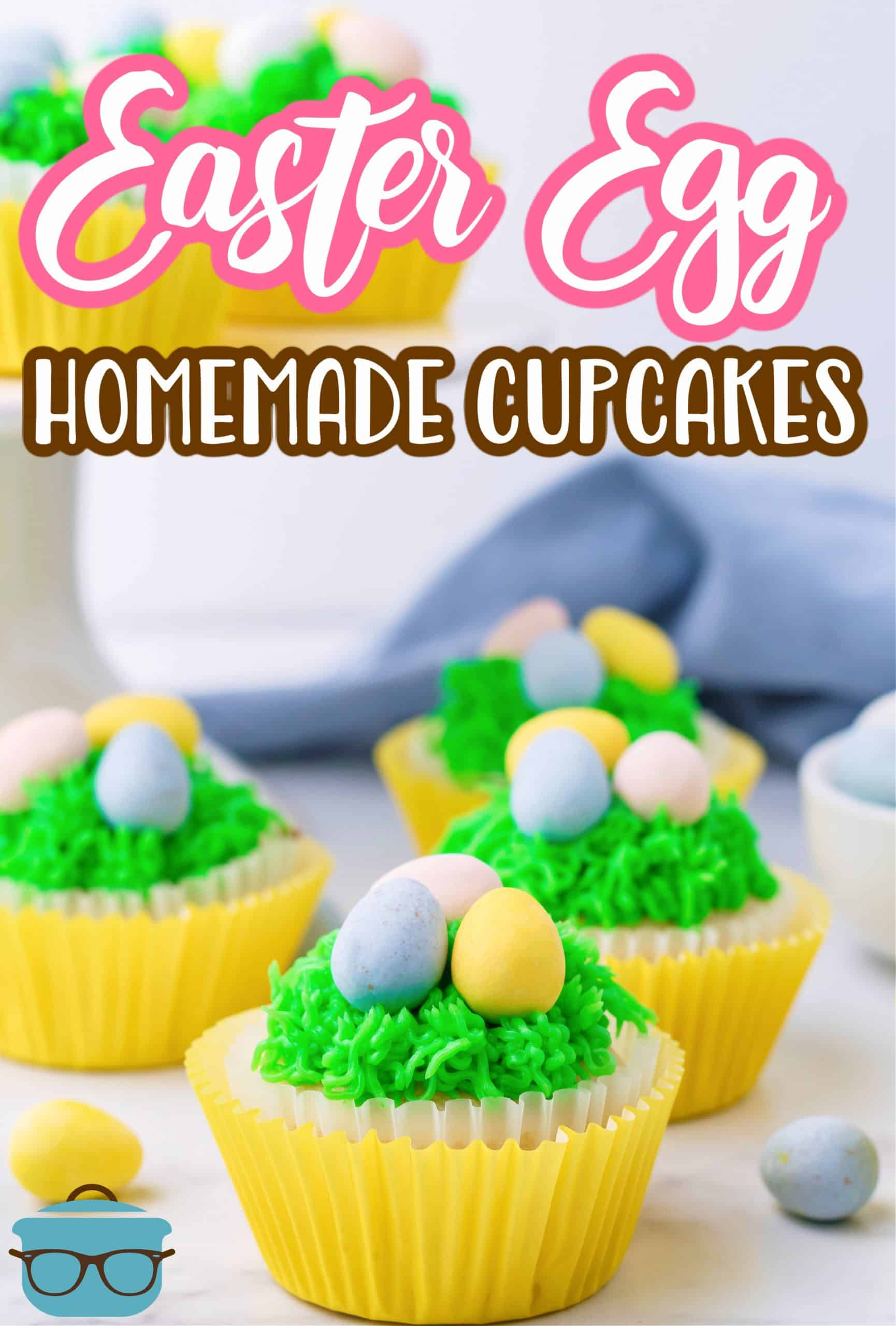 If you are looking for a cute and easy Easter project to do with the kids these Easter Egg Cupcakes are tasty, beautiful and seriously fun!