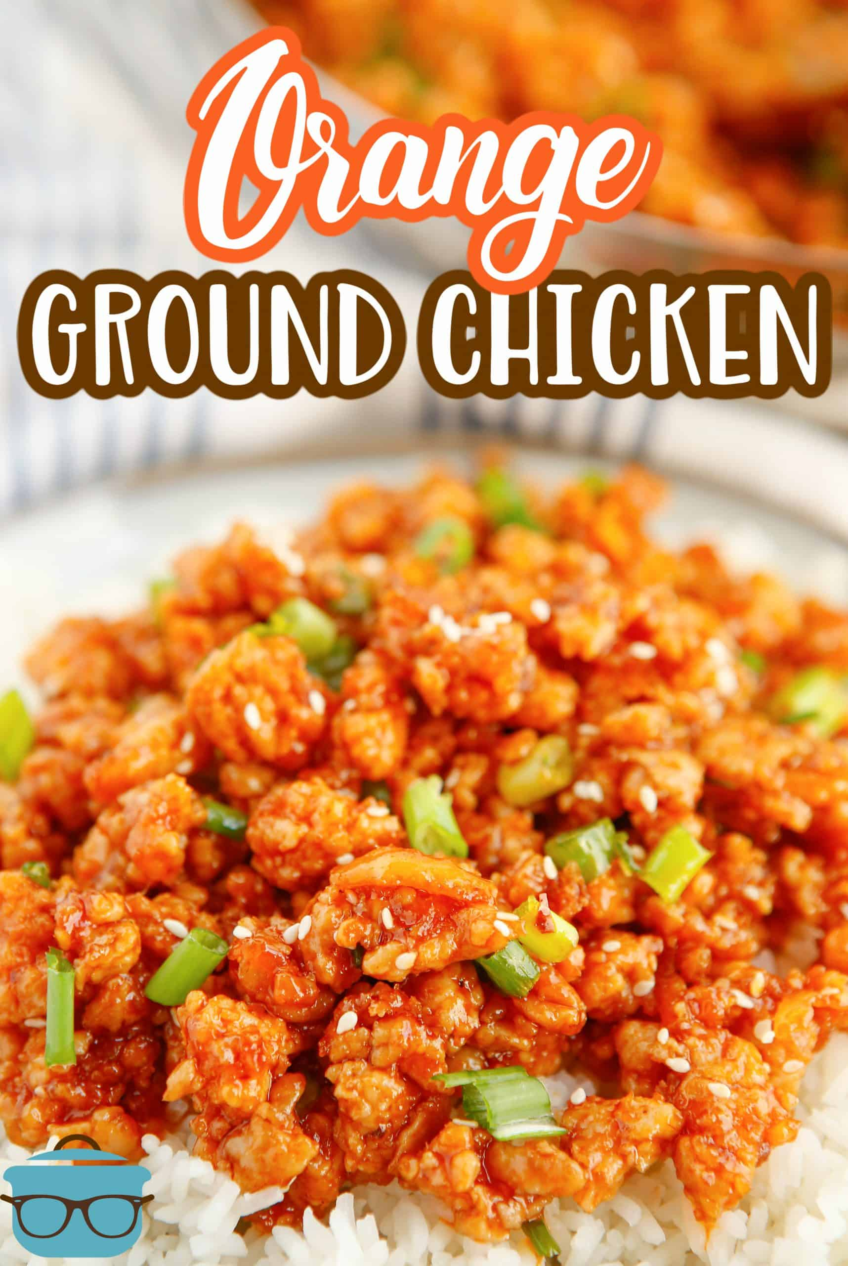 This tasty Ground Orange Chicken recipe is an easy, delicious weeknight meal. It's a fun, fast and much simpler take on traditional Orange Chicken!
