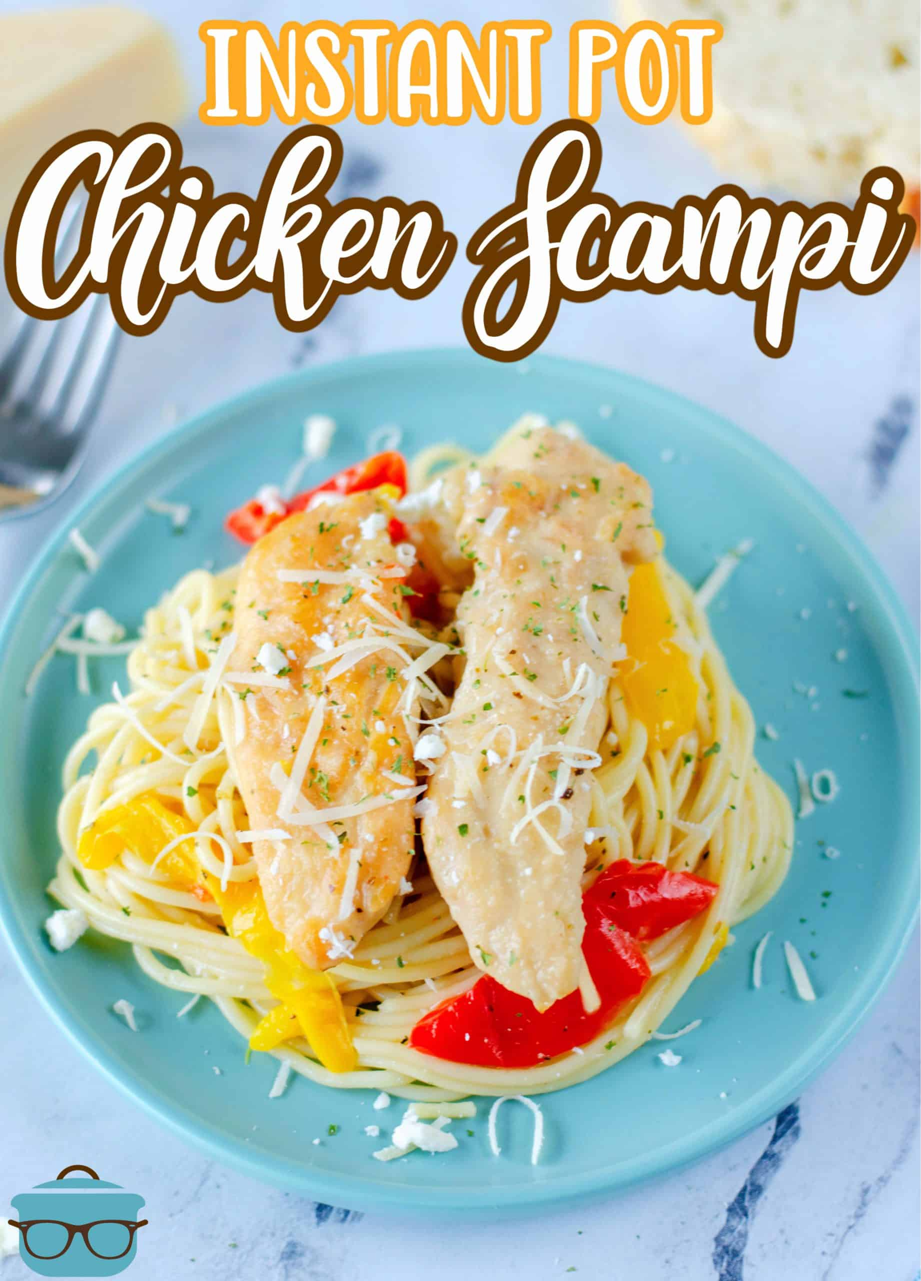 Want a a restaurant quality dish that you can make at home? This Instant Pot Chicken Scampi is easy, delicious, flavorful and perfect for the whole family.